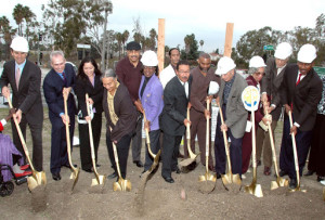 Ground Breaking Rosa Park Villas